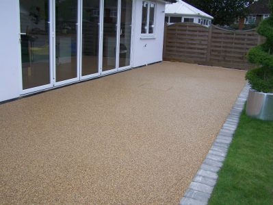 resin bound patio greater manchester